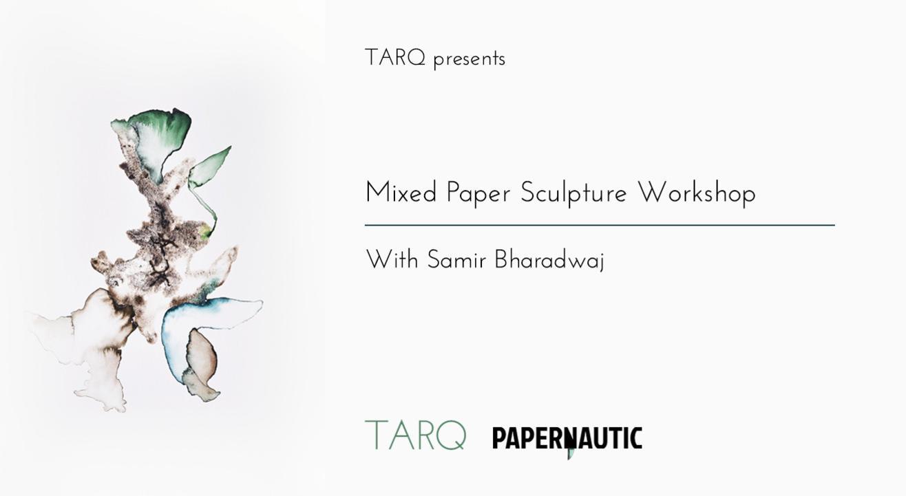 Mixed Paper Sculpture Workshop