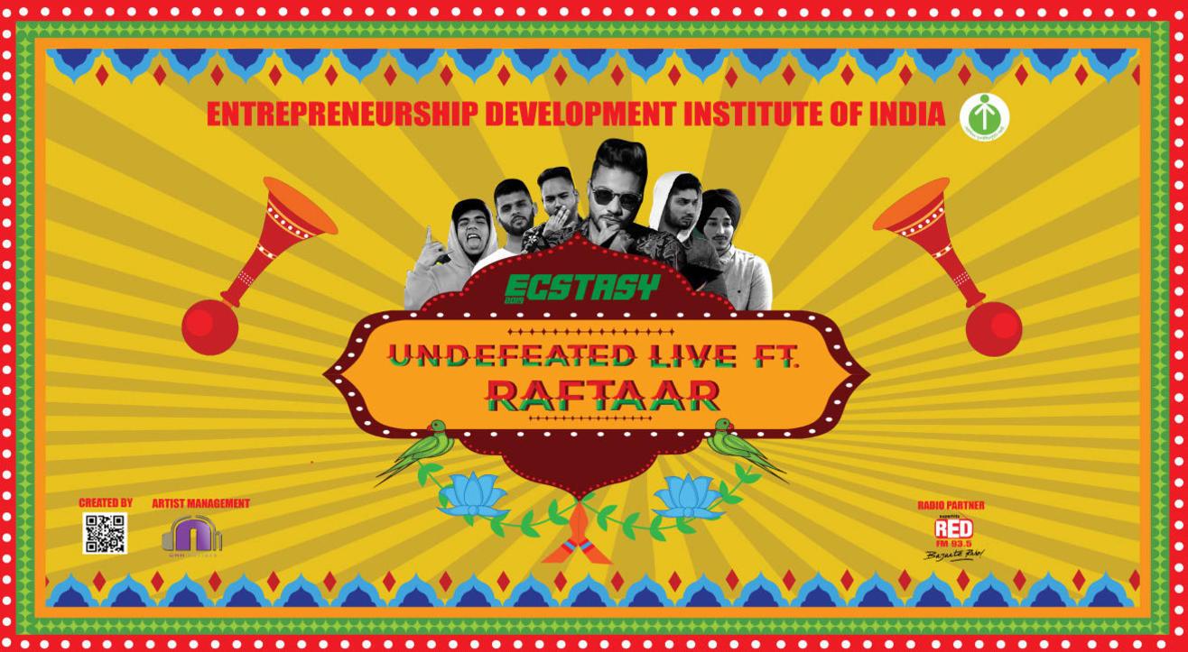 Ecstasy Presents Undefeated Live Ft. Raftaar