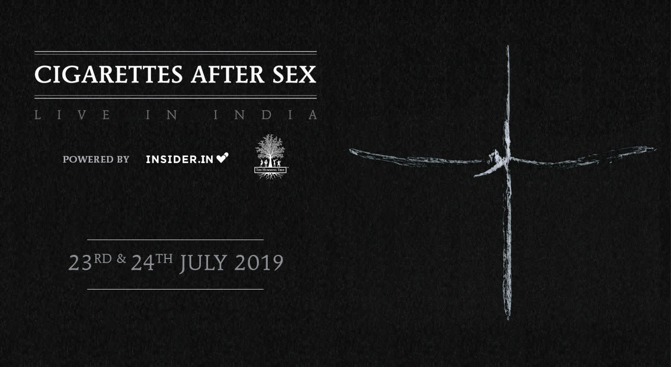 Register Now For Cigarettes After Sex - Live in India