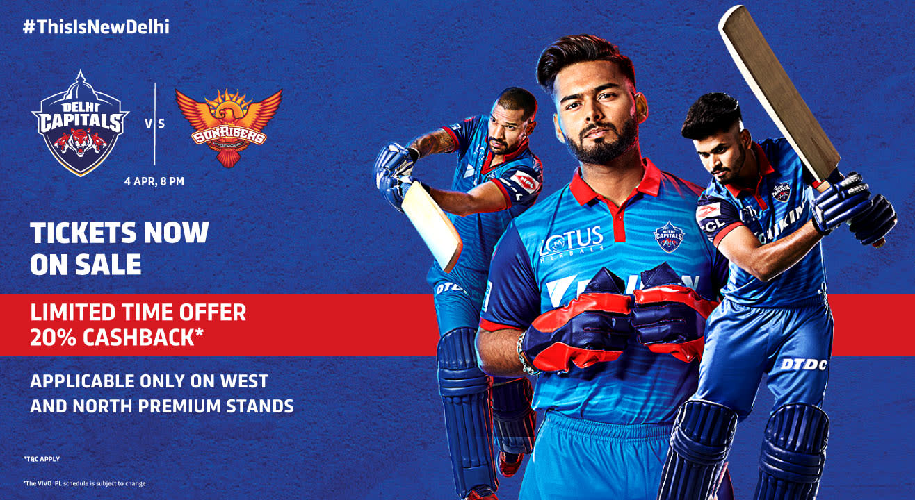 VIVO IPL 2019 - Match 16 - Delhi Capitals vs Sunrisers Hyderabad