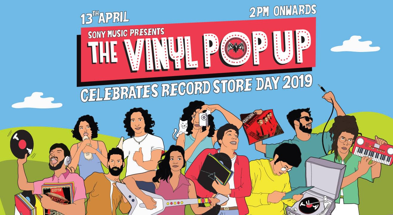 The Vinyl Pop Up 2019