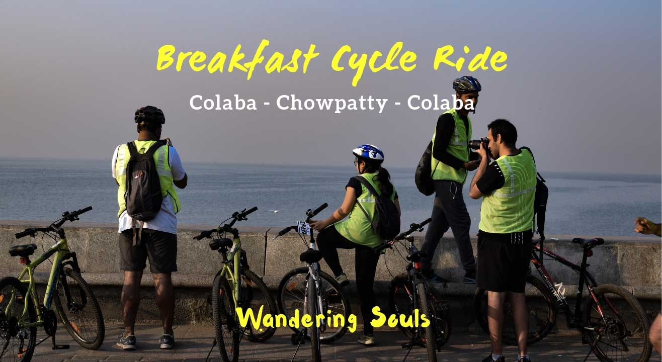 Breakfast Cycle Ride by Wandering Souls