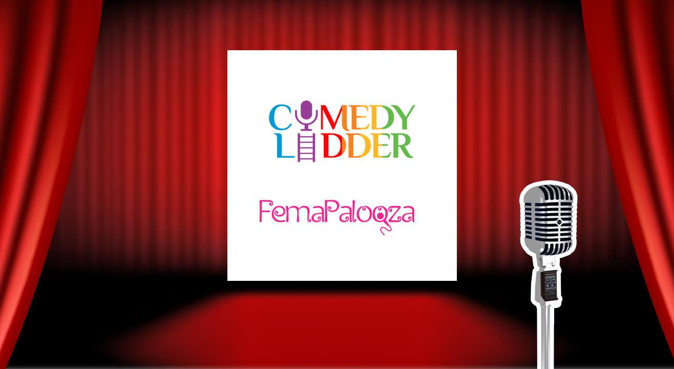 Femapalooza open mic spot registrations for women only