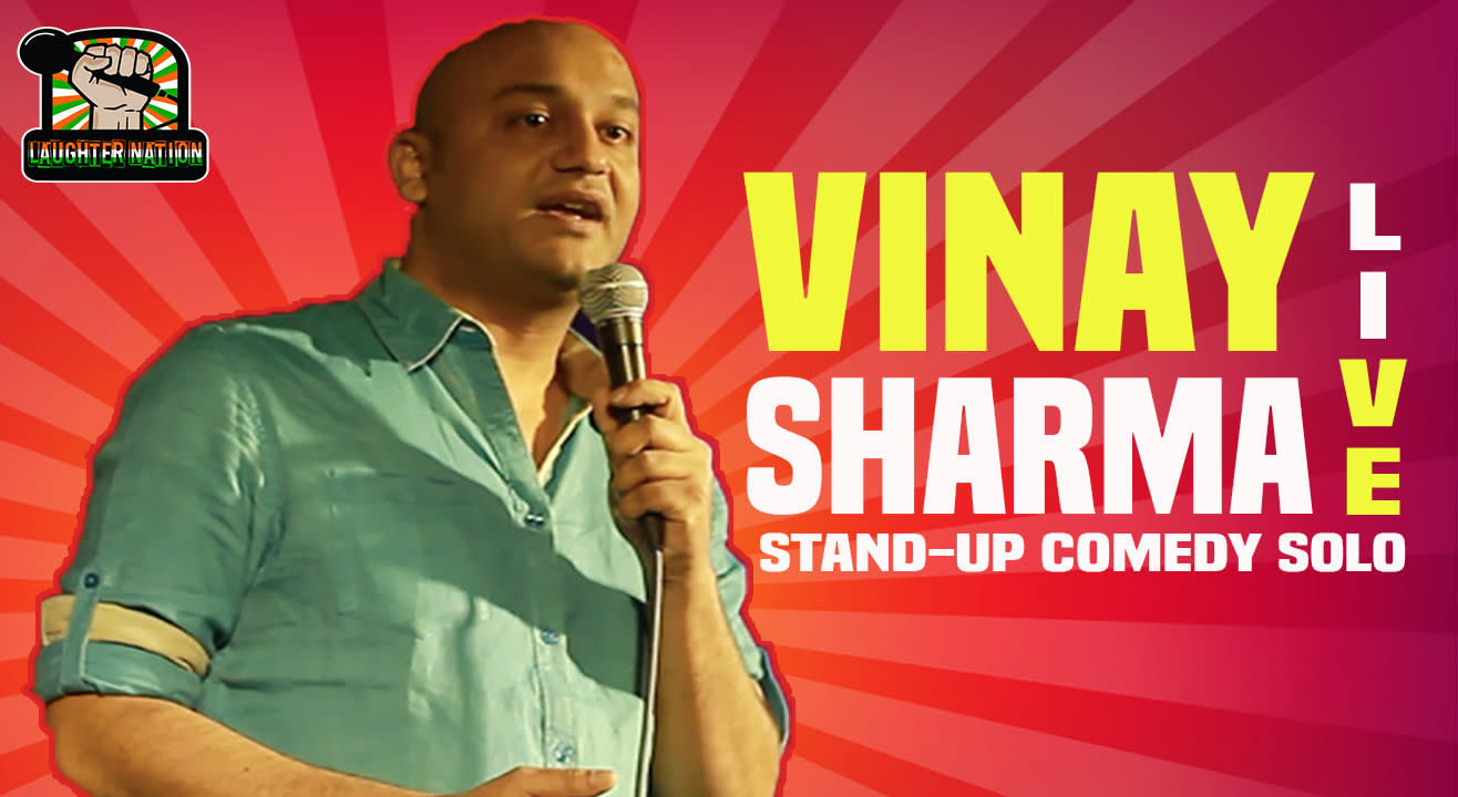 Vinay Sharma LIVE – Hindi stand-up comedy show