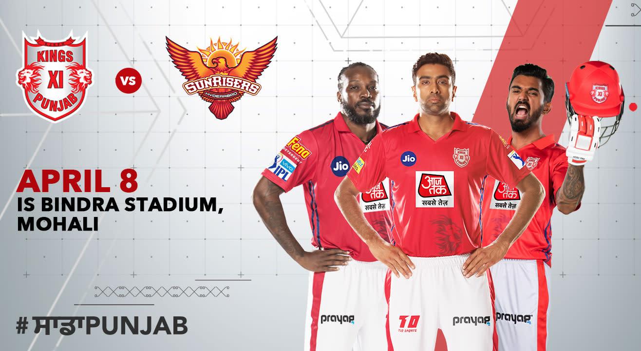 VIVO IPL 2019 - Match 22 - Kings XI Punjab vs Sunrisers Hyderabad