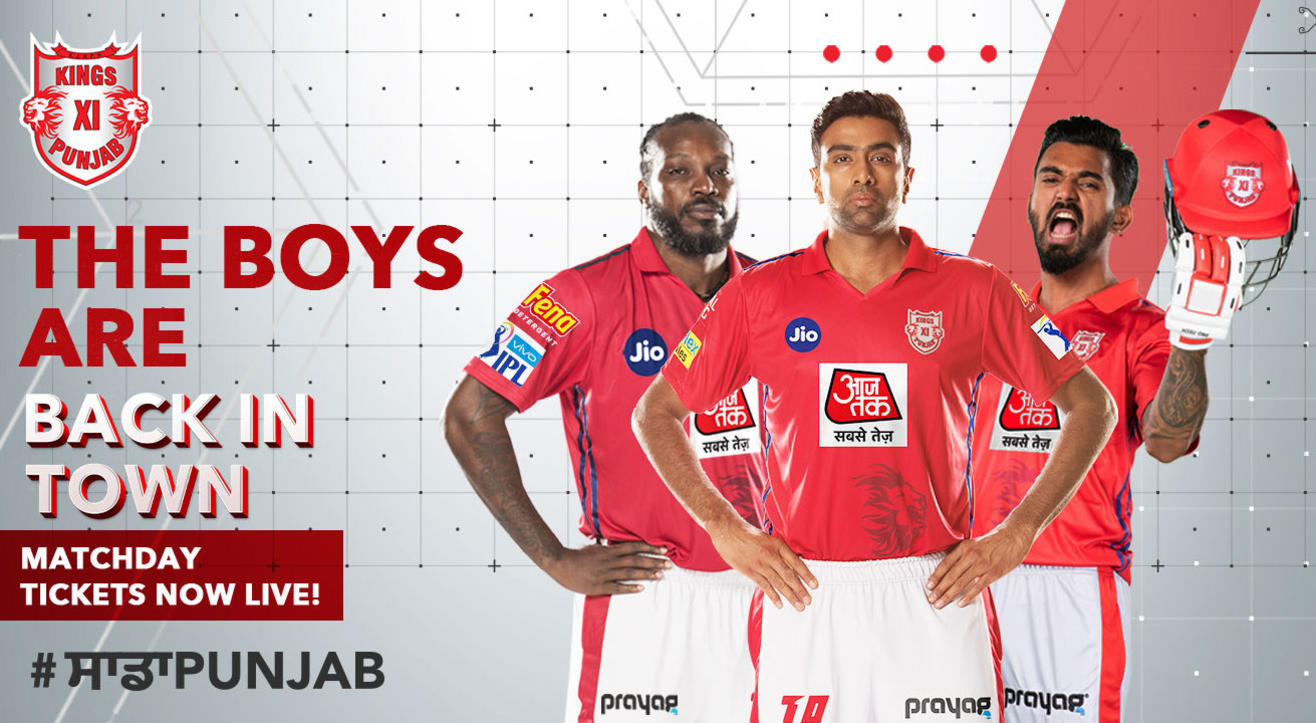 Kings XI Punjab: VIVO Indian Premier League 2019 Tickets, Squad, Schedule & More