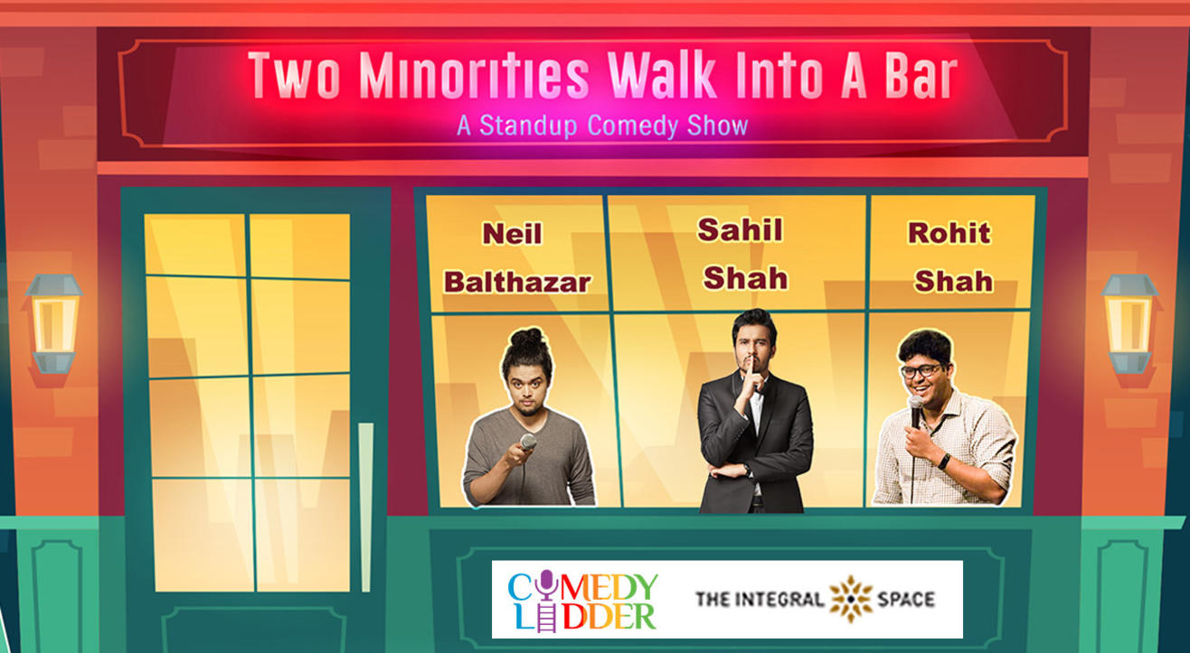 Two Minorities Walk Into A Bar Hosted by Sahil Shah