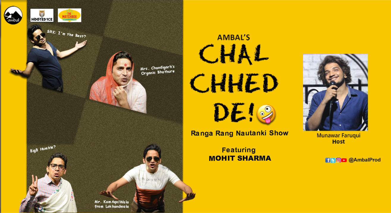 Chal Chhed De! A Sketch Comedy Hosted by Munawar Faruqui