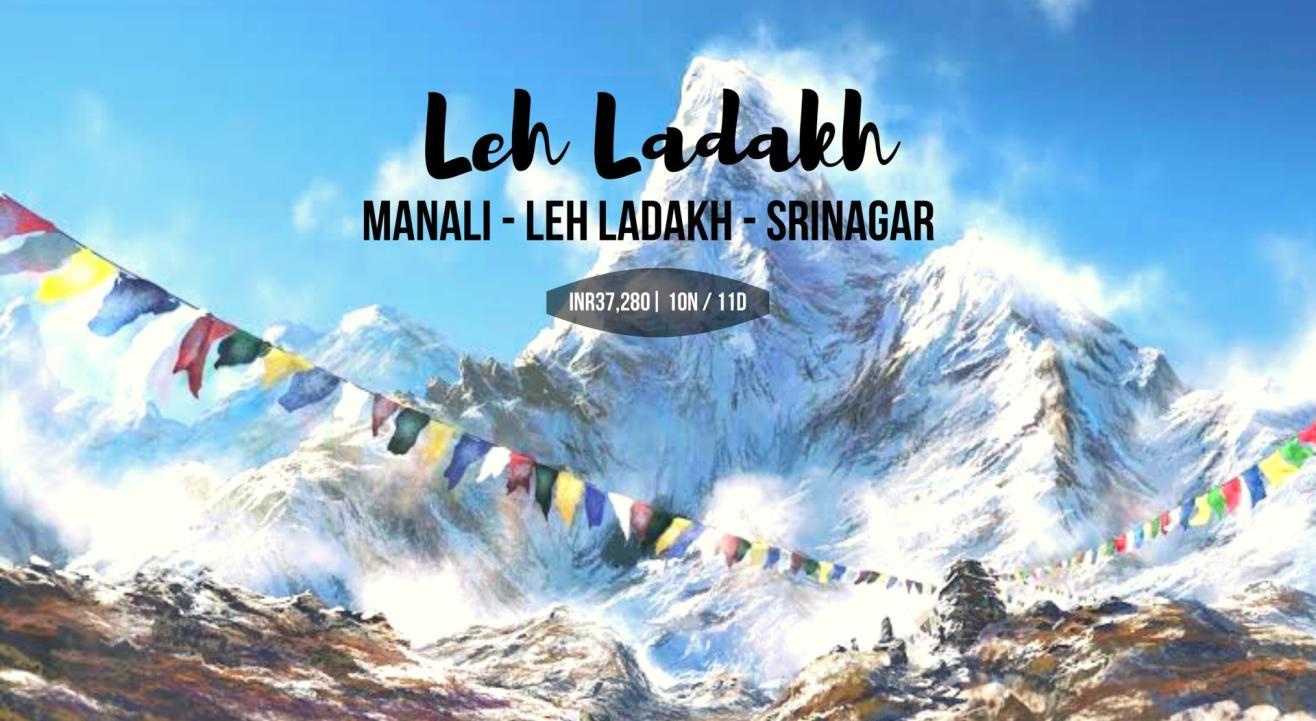 Leh Ladakh Roadtrip ( Manali - Leh Ladakh-Srinagar)