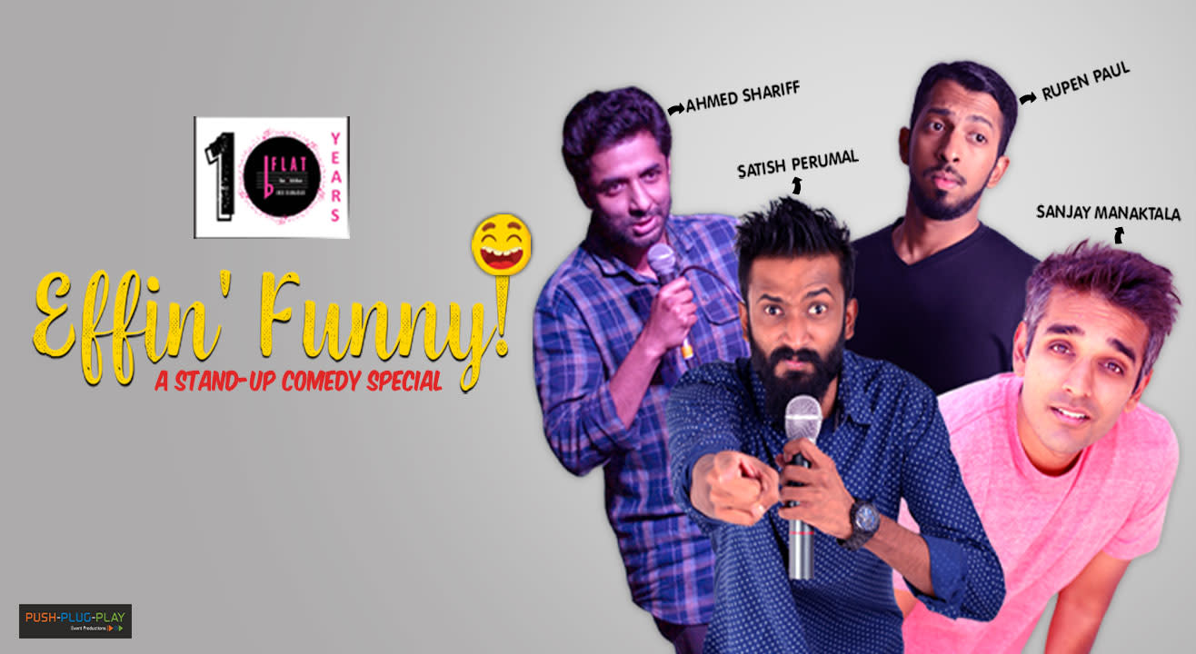 Effin' Funny!  A Stand-up Comedy Special