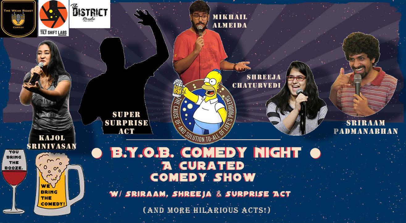 BYOB Comedy Night w/ Sriraam, Shreeja & Surprise Act