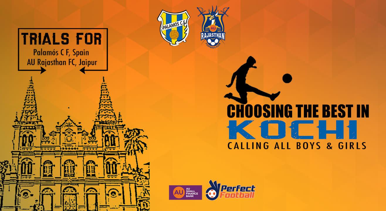 All India Football Trials - Kochi