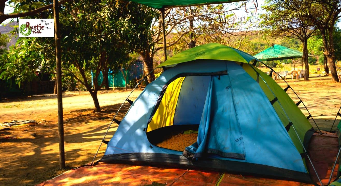 Camping near Pawna lake by RusticVille