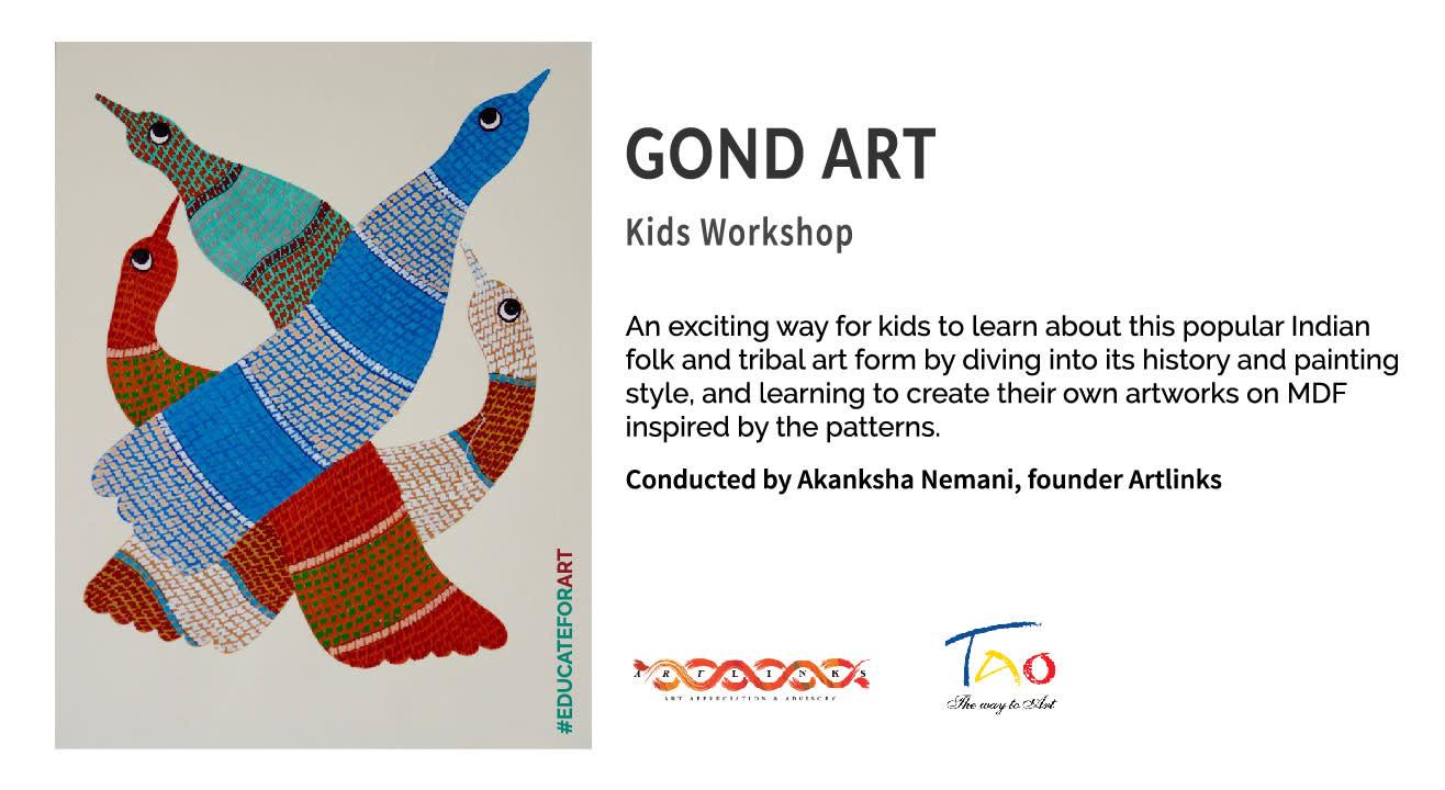 Gond Art - Kids workshop