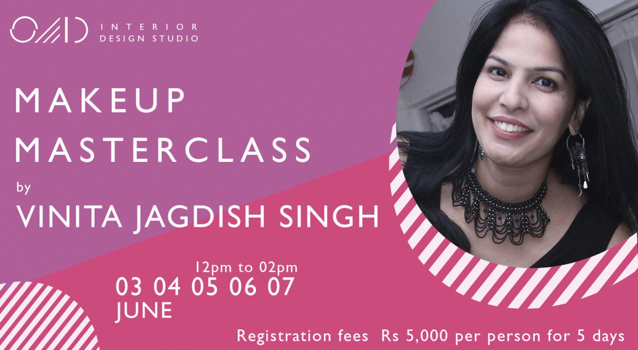 Makeup masterclass by Vinita Jagdish Singh