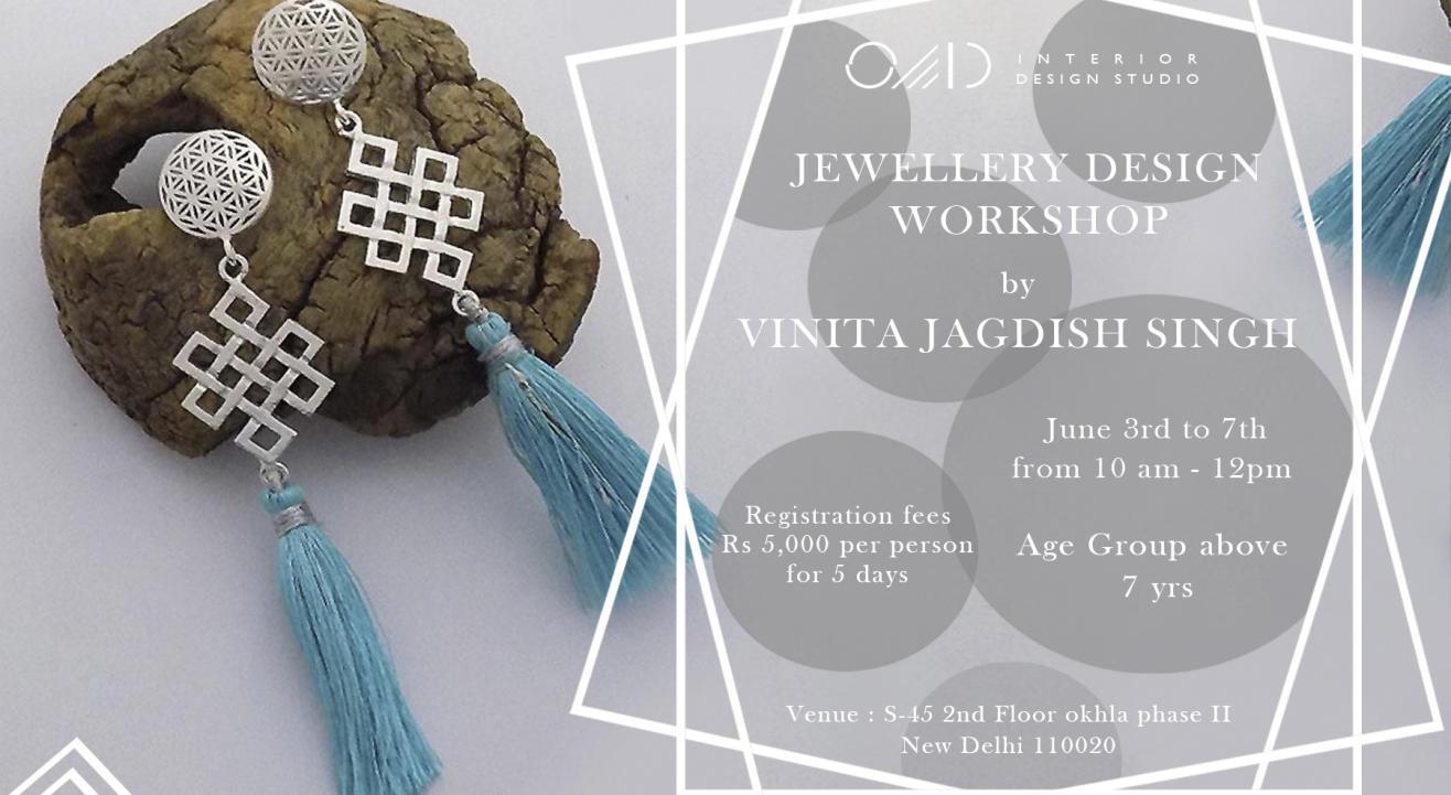 Jewellery Design Workshop by Vinita Jagdish Singh