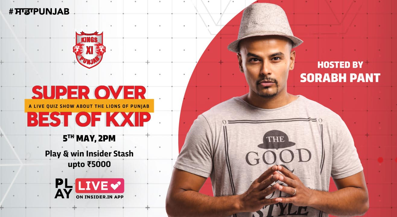 Super Over (KXIP): Play it live on Insider.in App