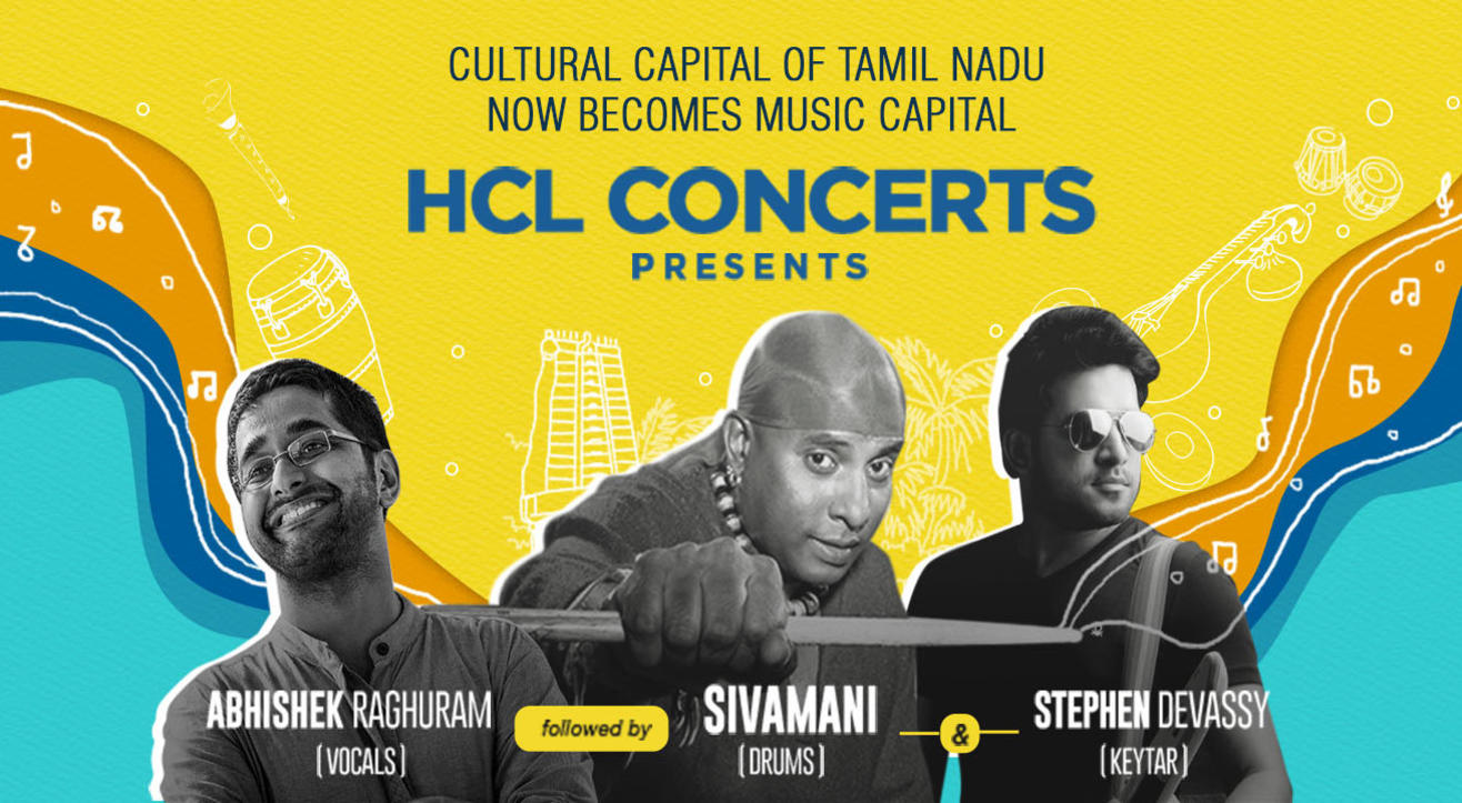 Sivamani, Stephen Devassy And Abhishek Raghuram Live