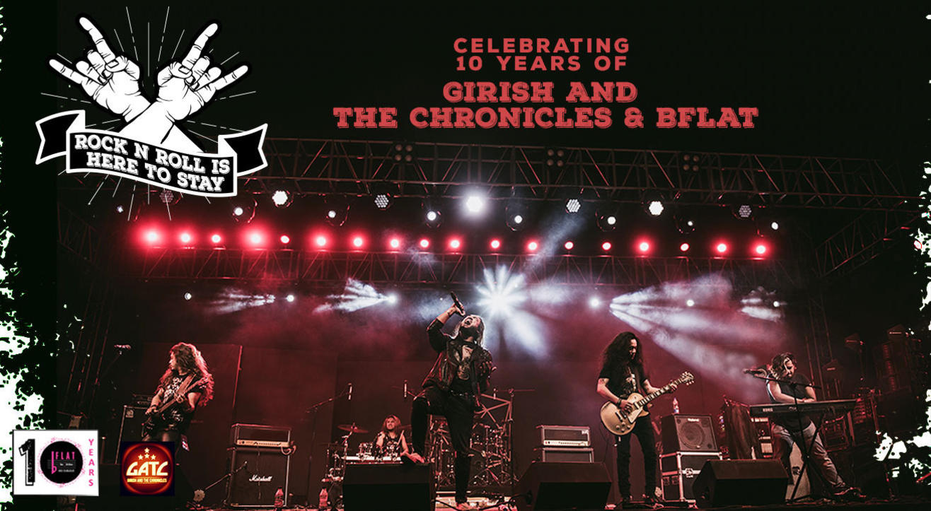 Rock And Roll Is Here To Stay! Girish And The Chronicles Live At Bflat