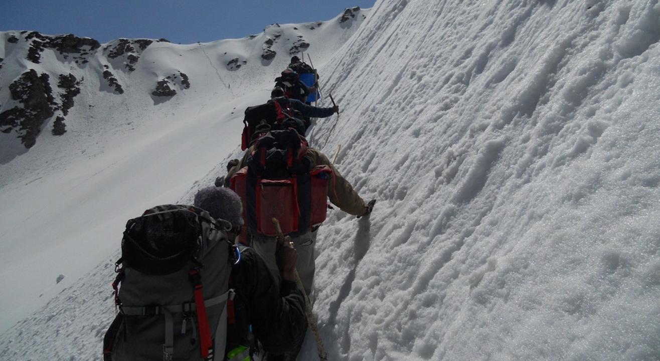 Chanderkhani Pass 2019 National Himalayan Trekking Cum Training Expedition