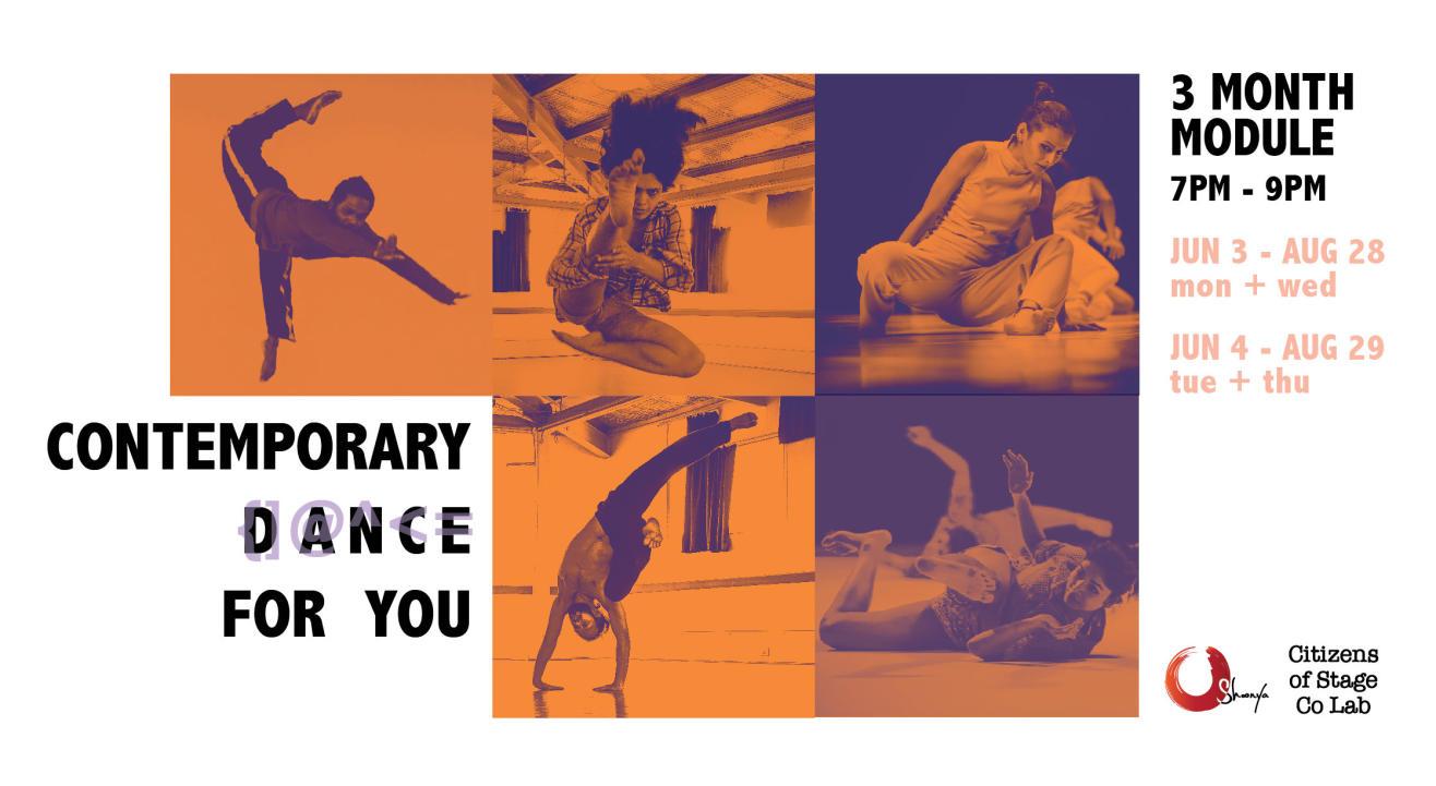 3 Month Contemporary Dance Module