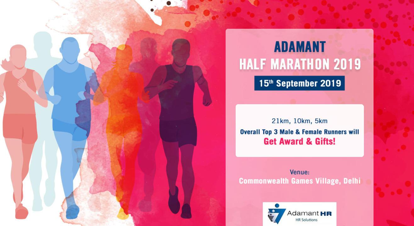 Adamant Half Marathon 2019