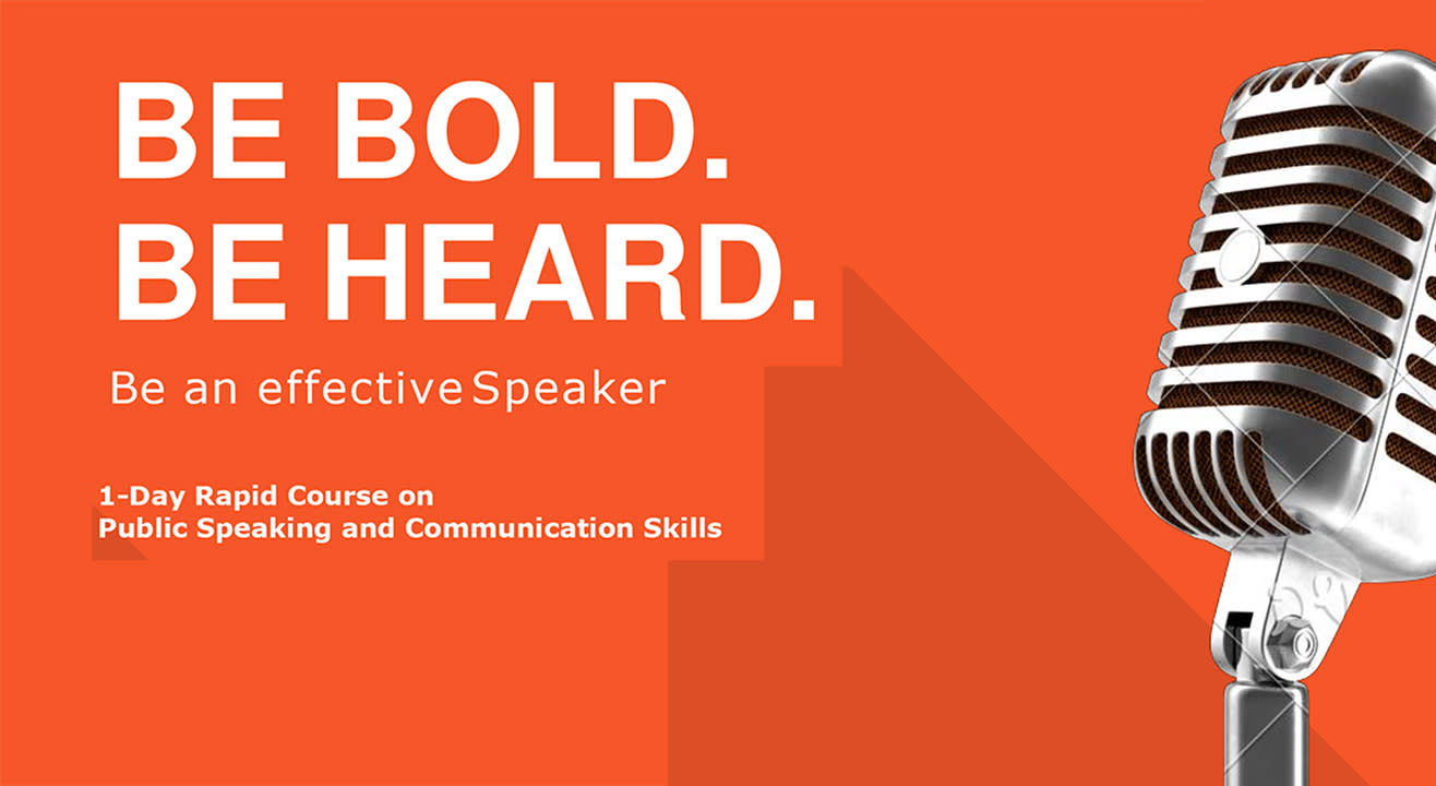 One Day Rapid Course on Public Speaking & Communication Skills