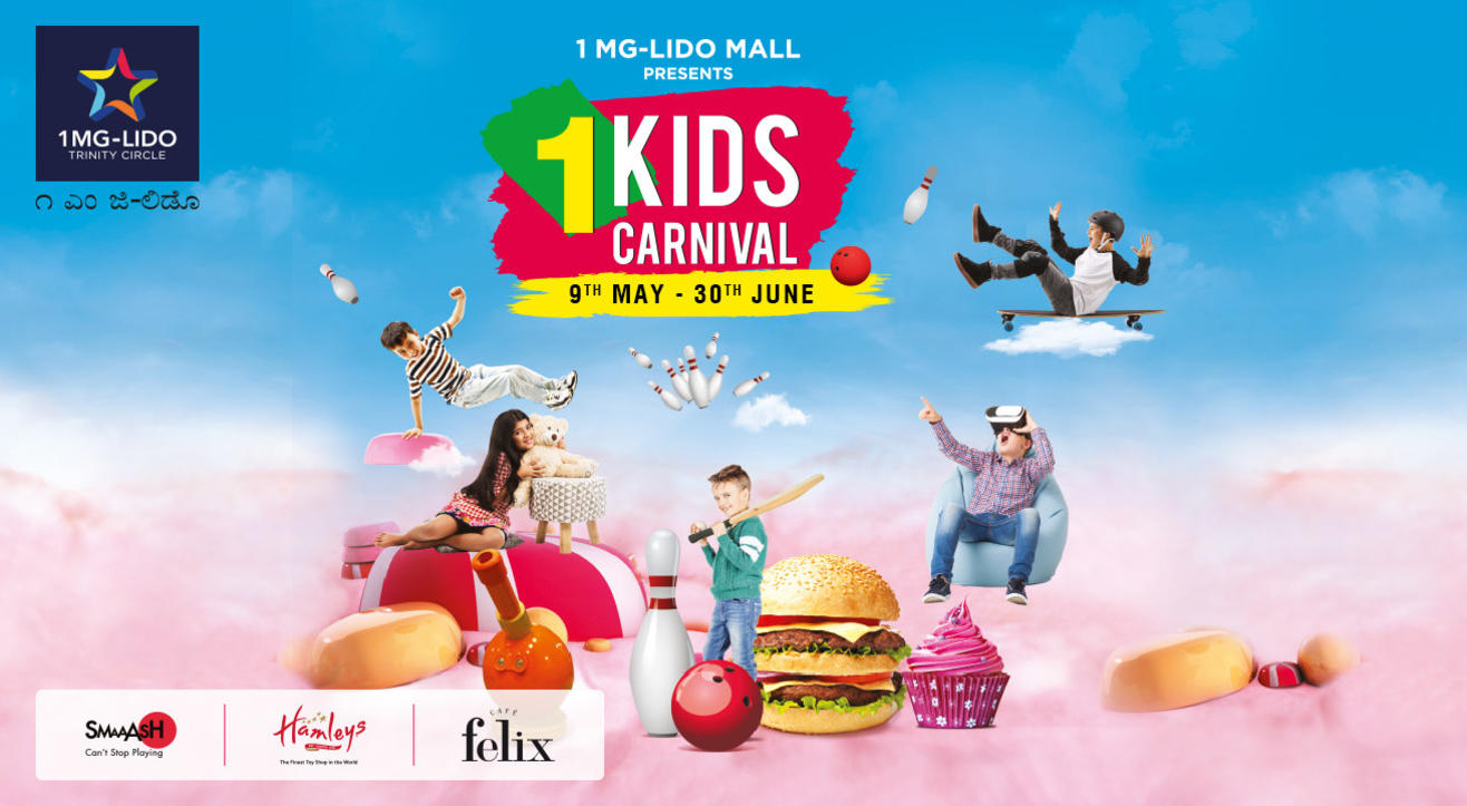 1 Kids Carnival At 1MG-Lido Mall | Bangalore