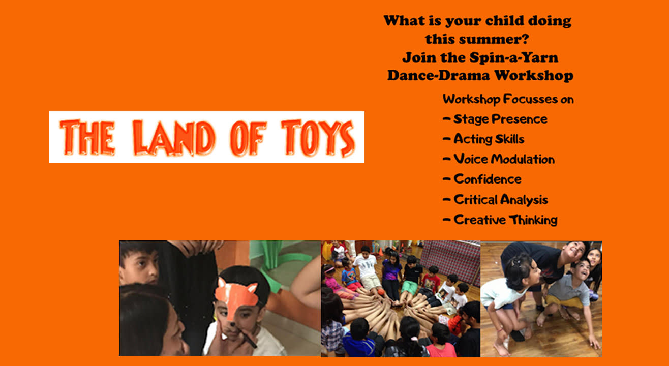 Drama Workshop - Land of Toys (4-6yrs)