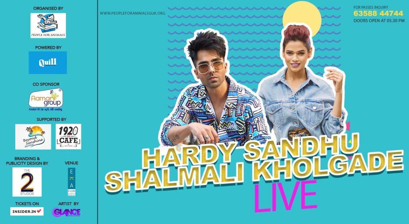 Hardy Sandhu & Shalmali Kholgade Live Concert By PDA