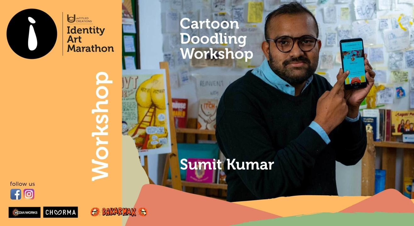 Cartoon Doodling Workshop by Bakarmax