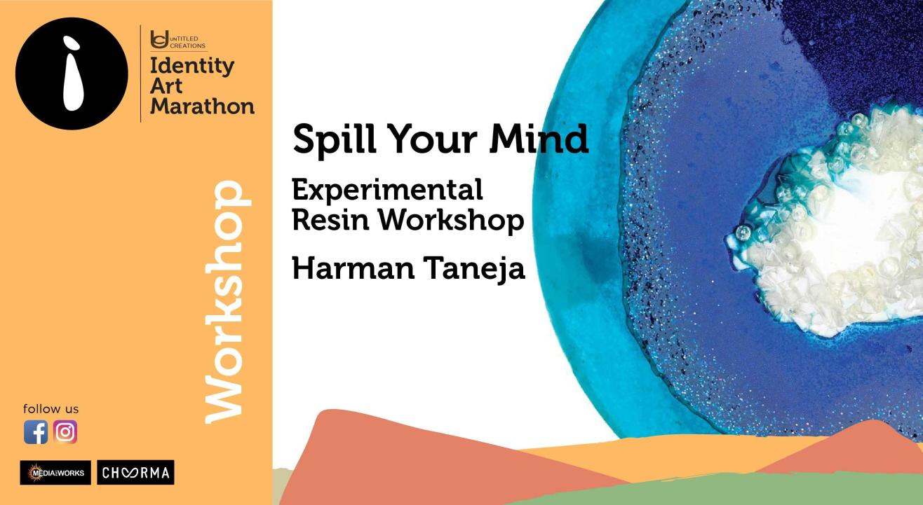 Spill your Mind - Experimental Resin Art