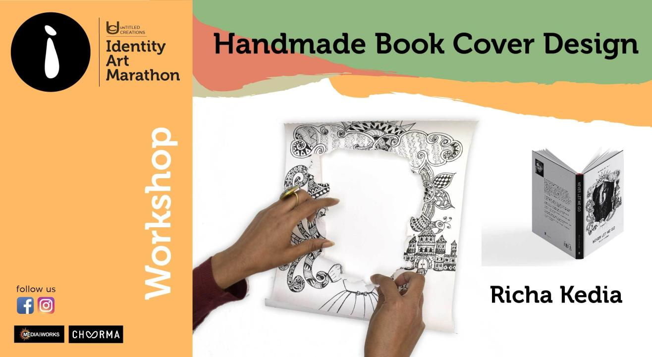 Handmade Book Cover design