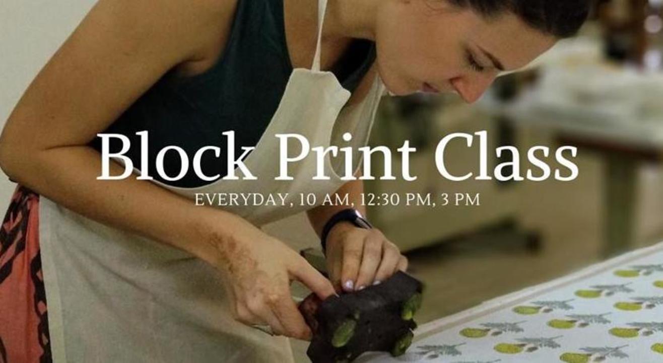 Block Print Class