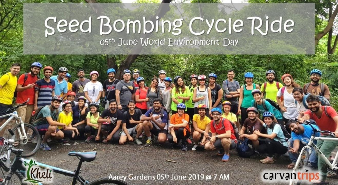 Seed Bombing Cycle Ride | Carvan Trips