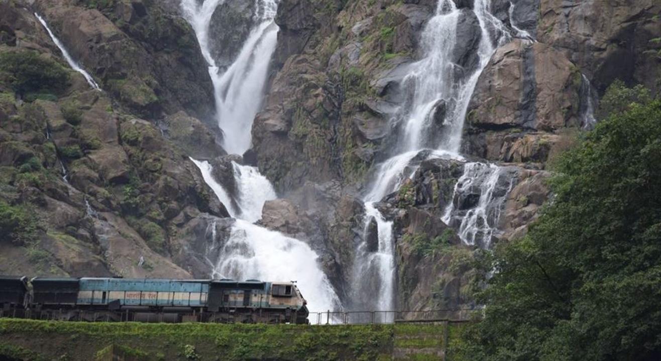 Dudhsagar Waterfalls Trek | Escape2Explore