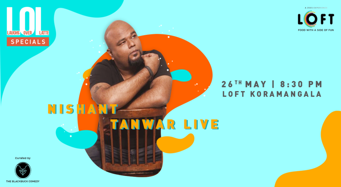Nishant Tanwar Live - A Standup Comedy Solo