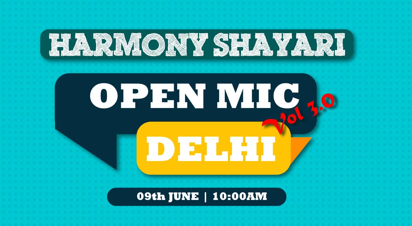 Harmony Open Mic 3.0 at Karkardooma Delhi