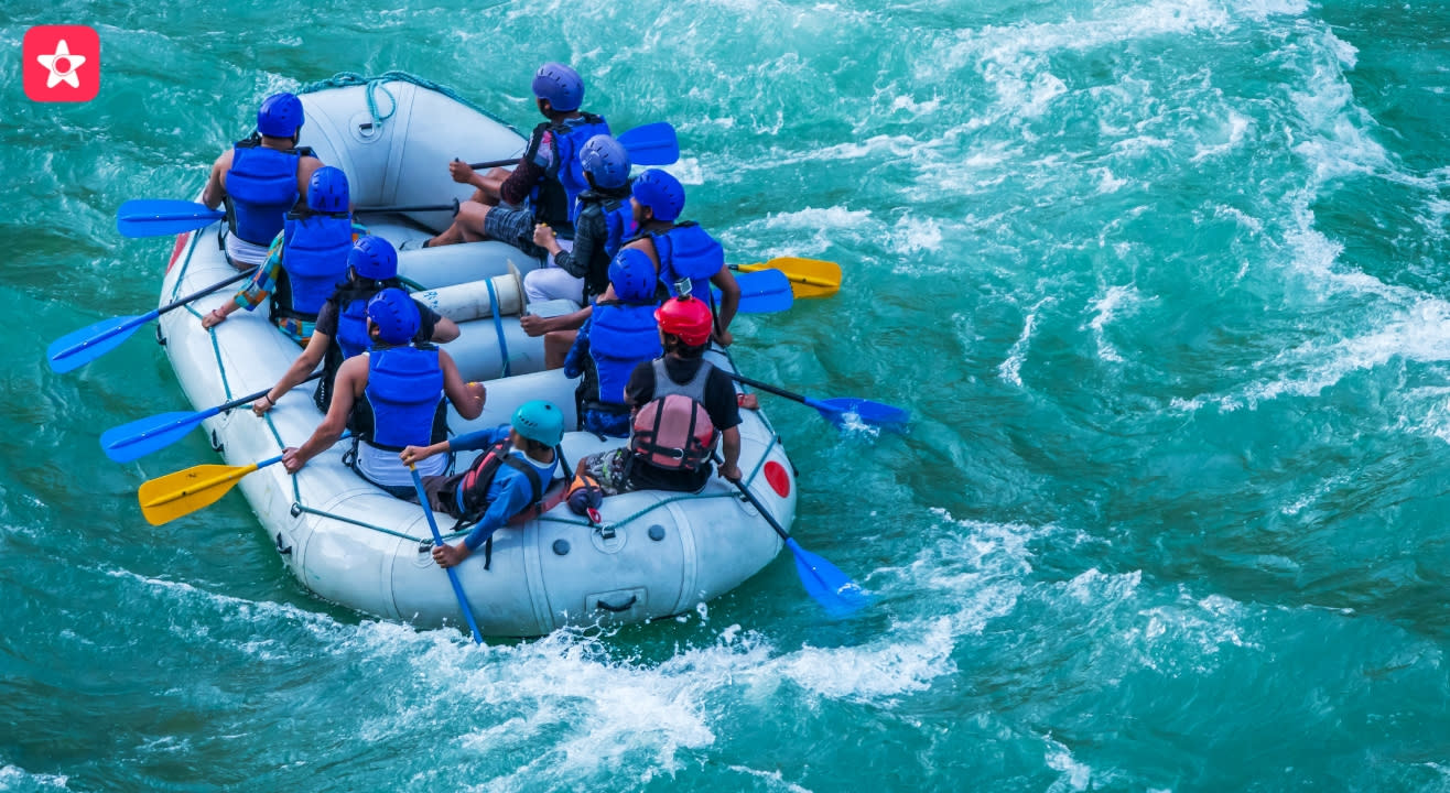 Rishikesh Rafting - Clubhouse to NIM Beach