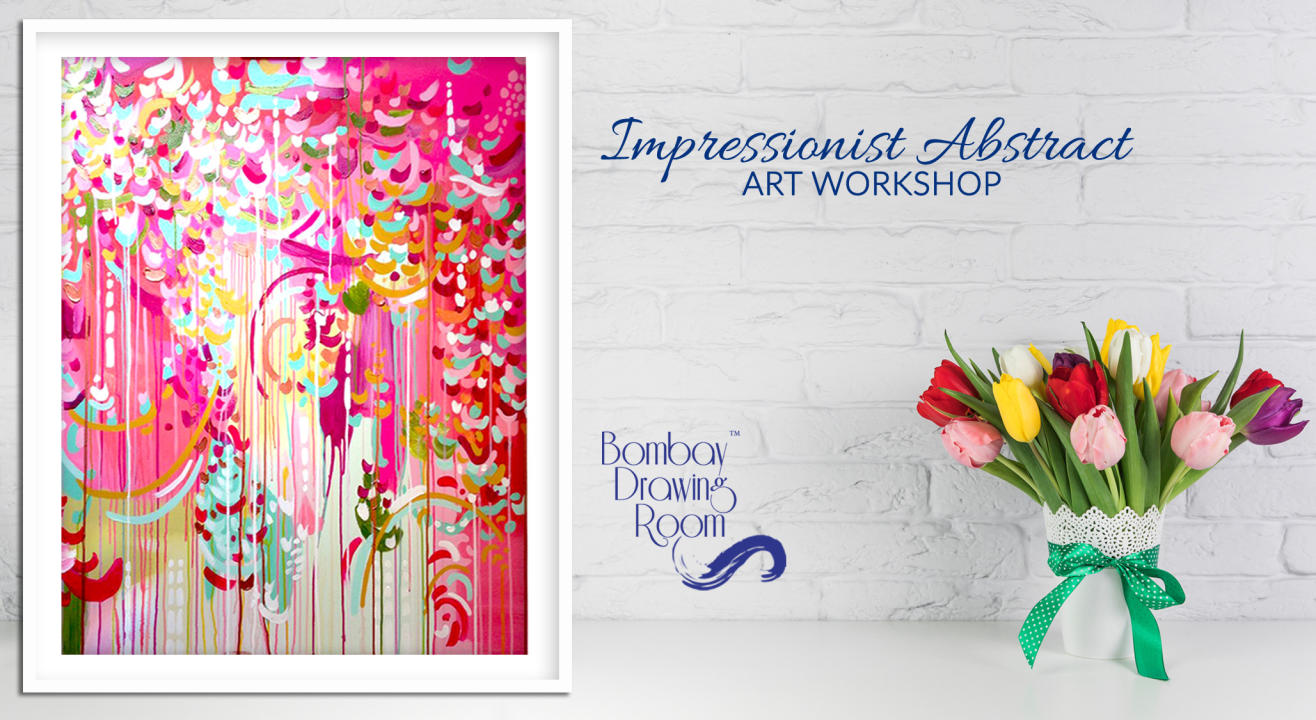 Impressionist Abstract Art Workshop by Bombay Drawing Room