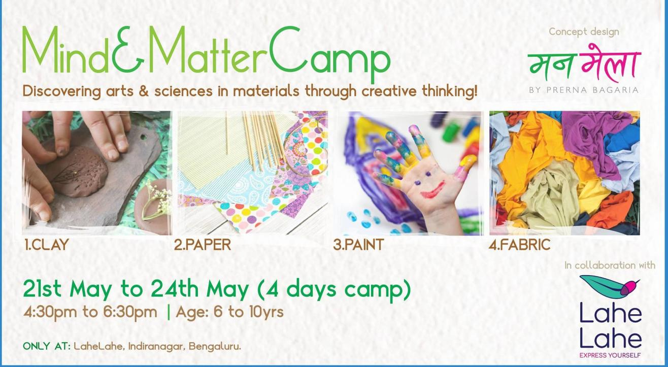 Mind&Matter Camp At Lahe Lahe (6 to 10yrs)