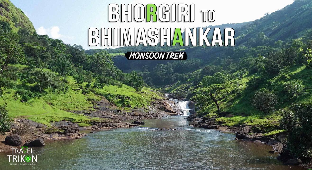 Bhimashankar To Bhorgiri Monsoon Trek | Travel Trikon