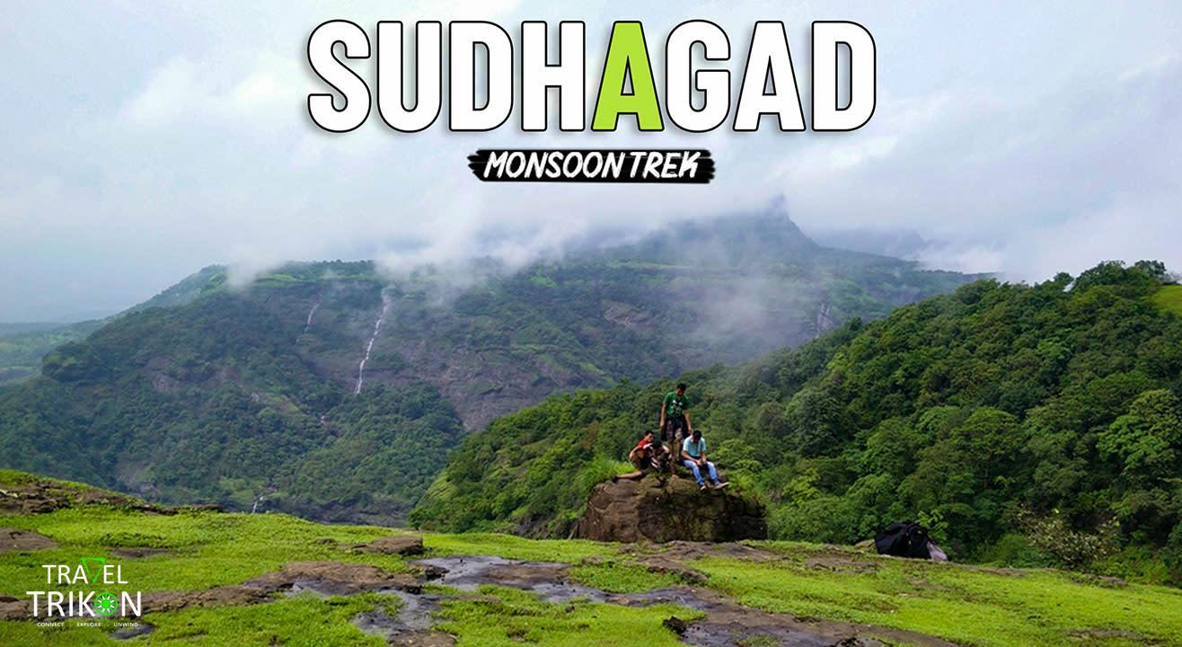 Sudhagad Monsoon Trek | Travel Trikon