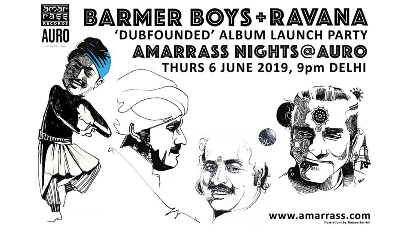 Dubfounded Album Launch Party with Ravana + Barmer Boys