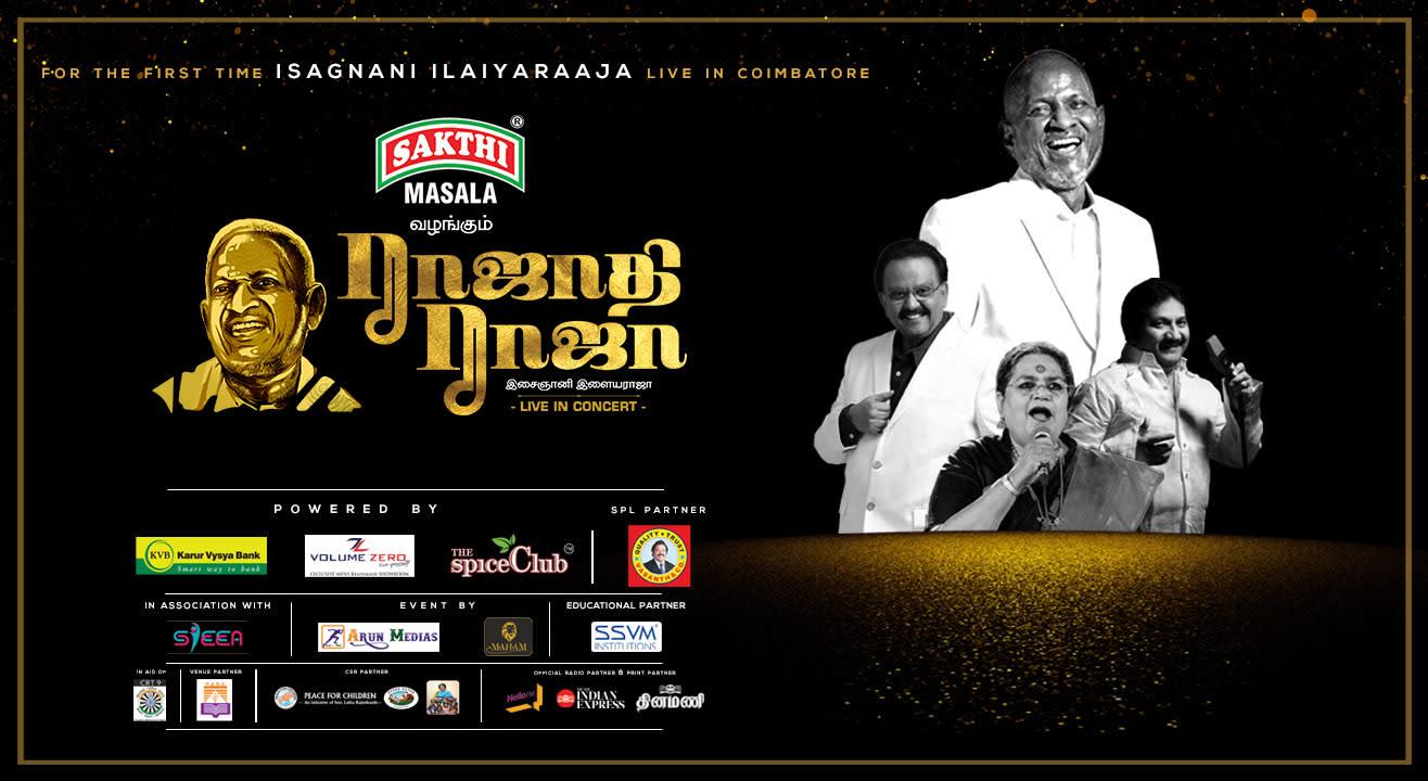 Rajathi Raja - Live in Concert | Coimbatore