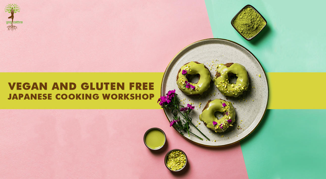 Vegan and Gluten Free Japanese Cooking Workshop