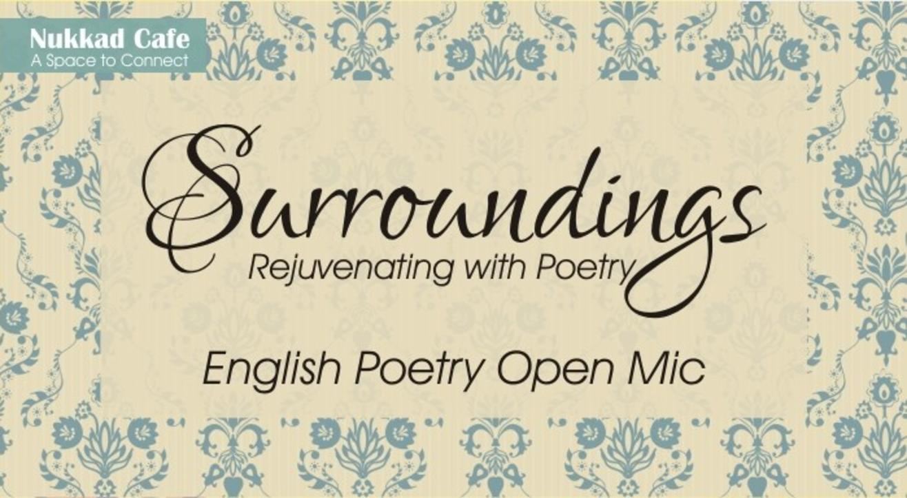 Surrounding – English Poetry Open Mic