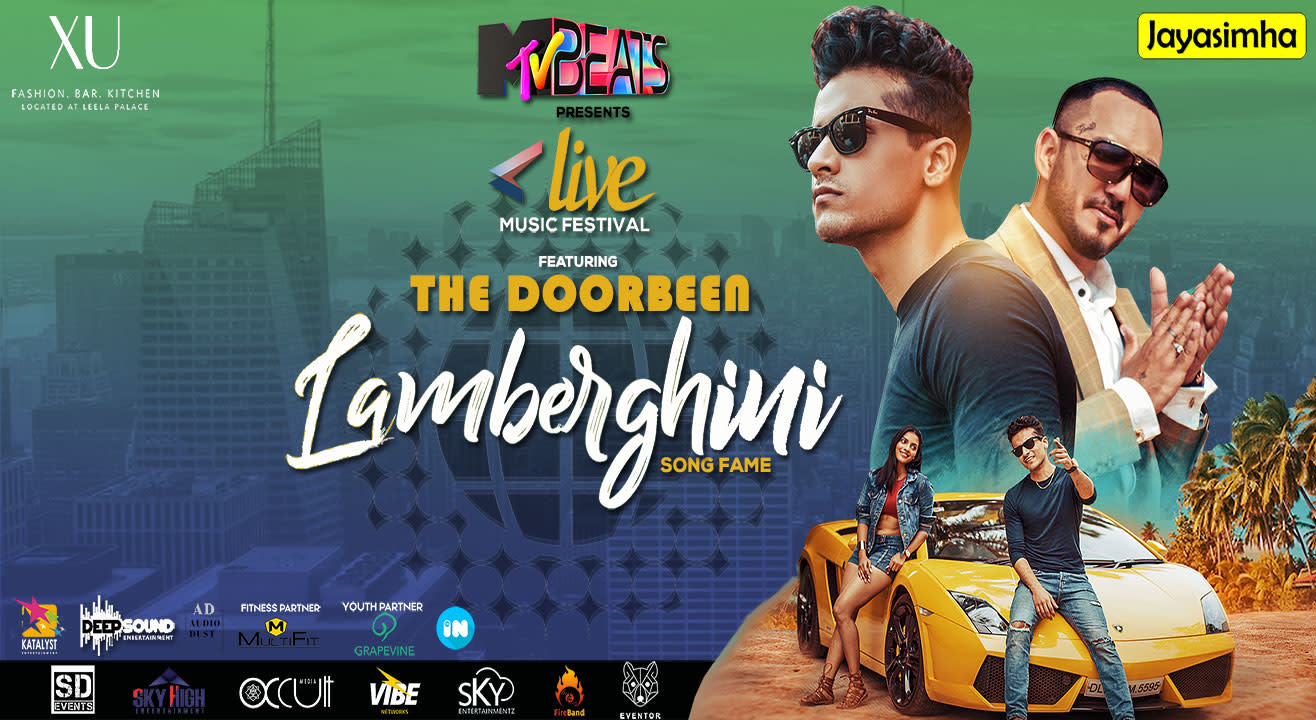 Doorbeen live in Bangalore (Lamberghini song fame)