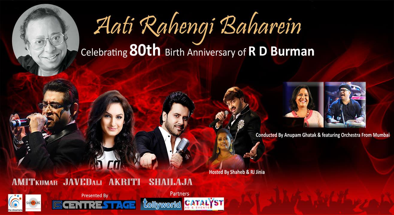 Aati Rahengi Baharein Celebrating The 80th Anniversary Of RD Burman