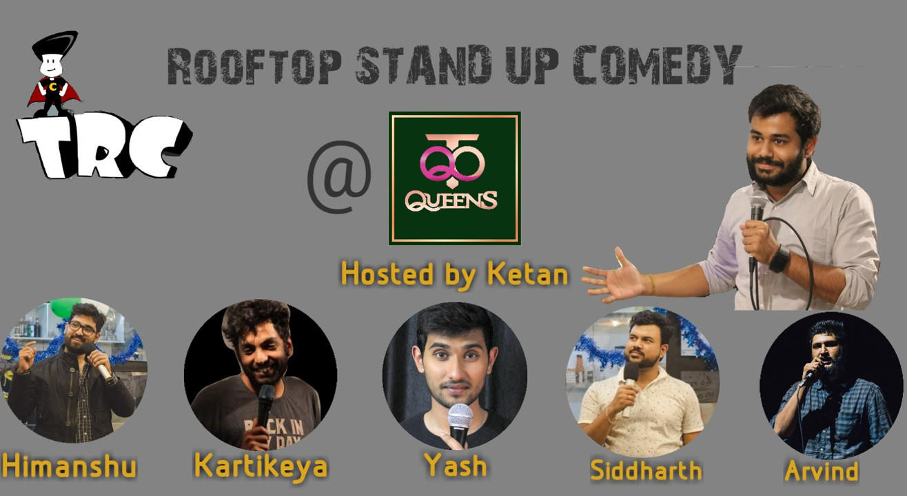 Rooftop Stand Up Comedy At Queens